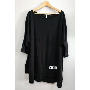 Sleep by Cacique Plus 22/24 Black Shirt Top